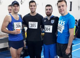 Opcare running team photo